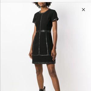 MICHAEL KORS studded mini dress